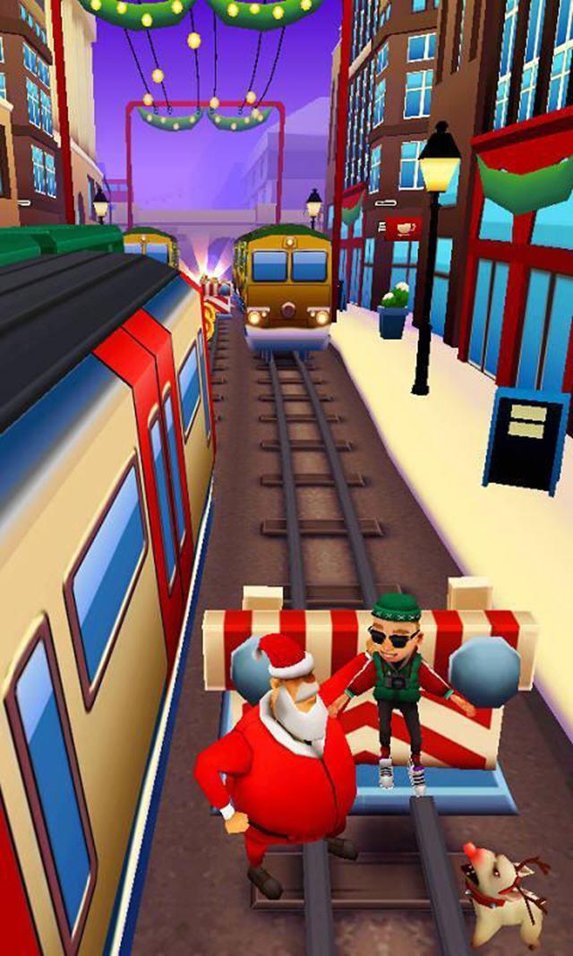 地铁跑酷圣诞版2.36.0_截图1
