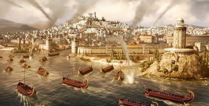 罗马2全面战争一回合建筑MOD