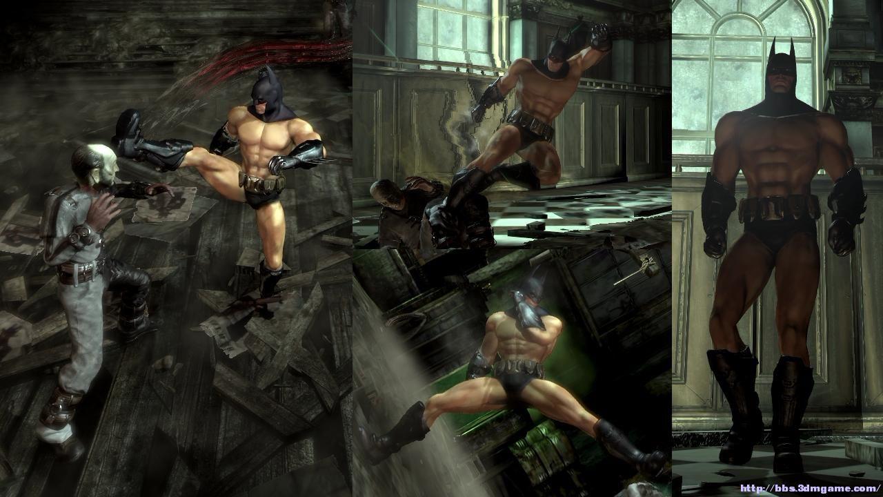 蝙蝠侠:阿卡姆起源拜特曼半裸补丁