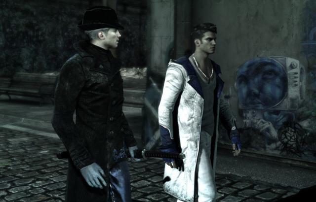 《鬼泣5》衣服MOD蓝白外套