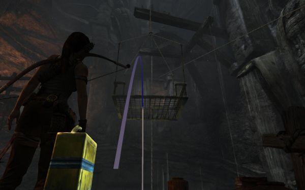 攻略秘籍游戏攻略→古墓丽影9密室攻略攻略:拿到吊台到上方通过古墓逃脱12目标大全9图片