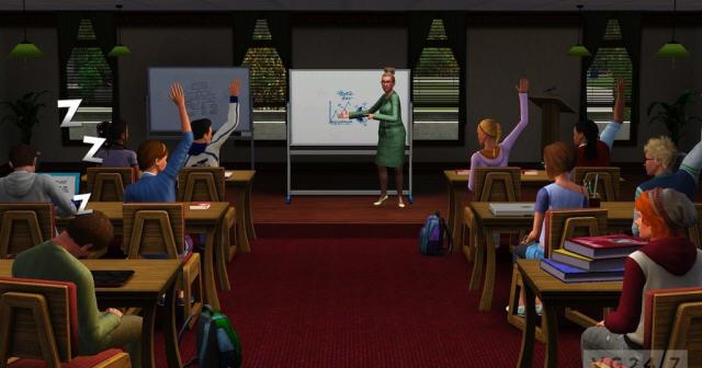 模拟人生3:大学生活截图0