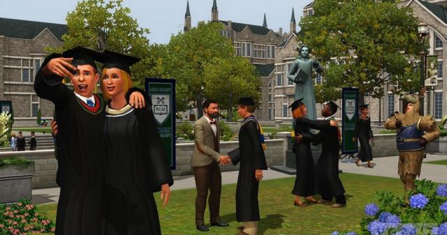 模拟人生3:大学生活截图2