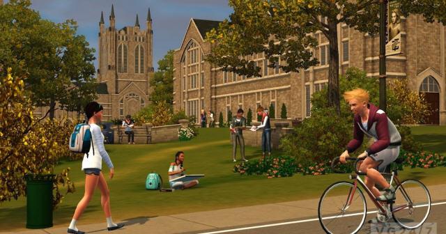 模拟人生3:大学生活截图3