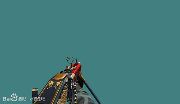 CF单机版祥龙大炮MG3手斧模型
