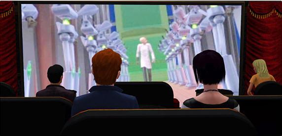 模拟人生3晶椎影城MOD(官方出品)截图0