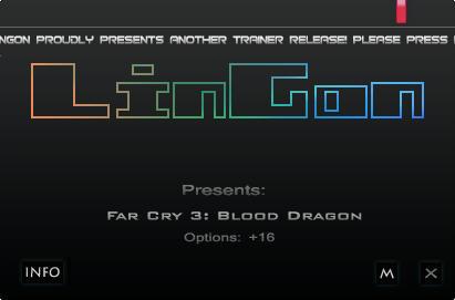 《孤岛惊魂3:血龙》修改器+16