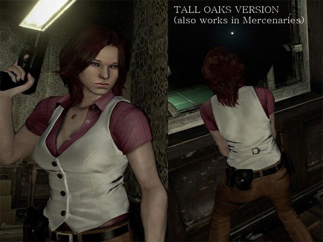 《生化危机6》海伦娜红服装白背心MOD