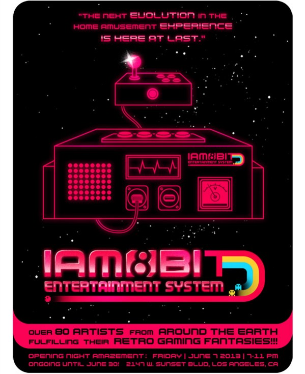 Iam8bit \'Entertainment System\' features art inspired by 1980s games