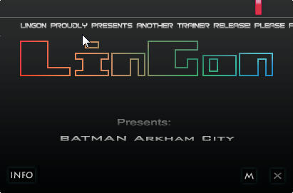 《蝙蝠侠:阿卡姆之城》修改器+8