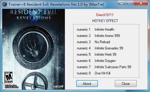 《生化危机:启示录HD》修改器+8