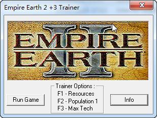 《地球帝国2》修改器+3