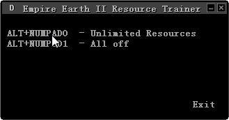 《地球帝国2》资源修改器