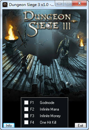 《地牢围攻3》修改器+4