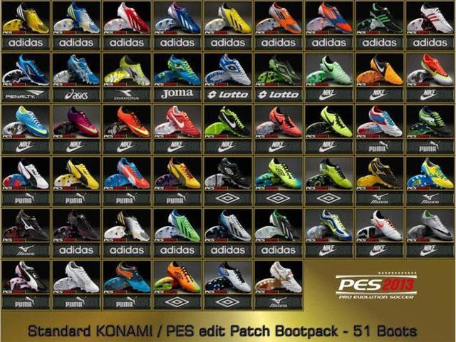 《实况足球2013》标准高清球鞋包v2.2