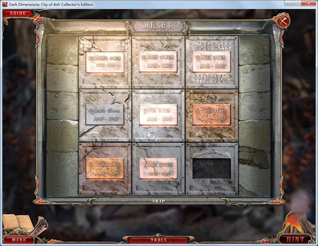 攻略 谜题 游戏/谜题要求:转动3轮转盘到相应主题的图案...