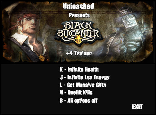 《黑海盗传奇》修改器+4