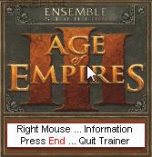 《帝国时代3》修改器+5