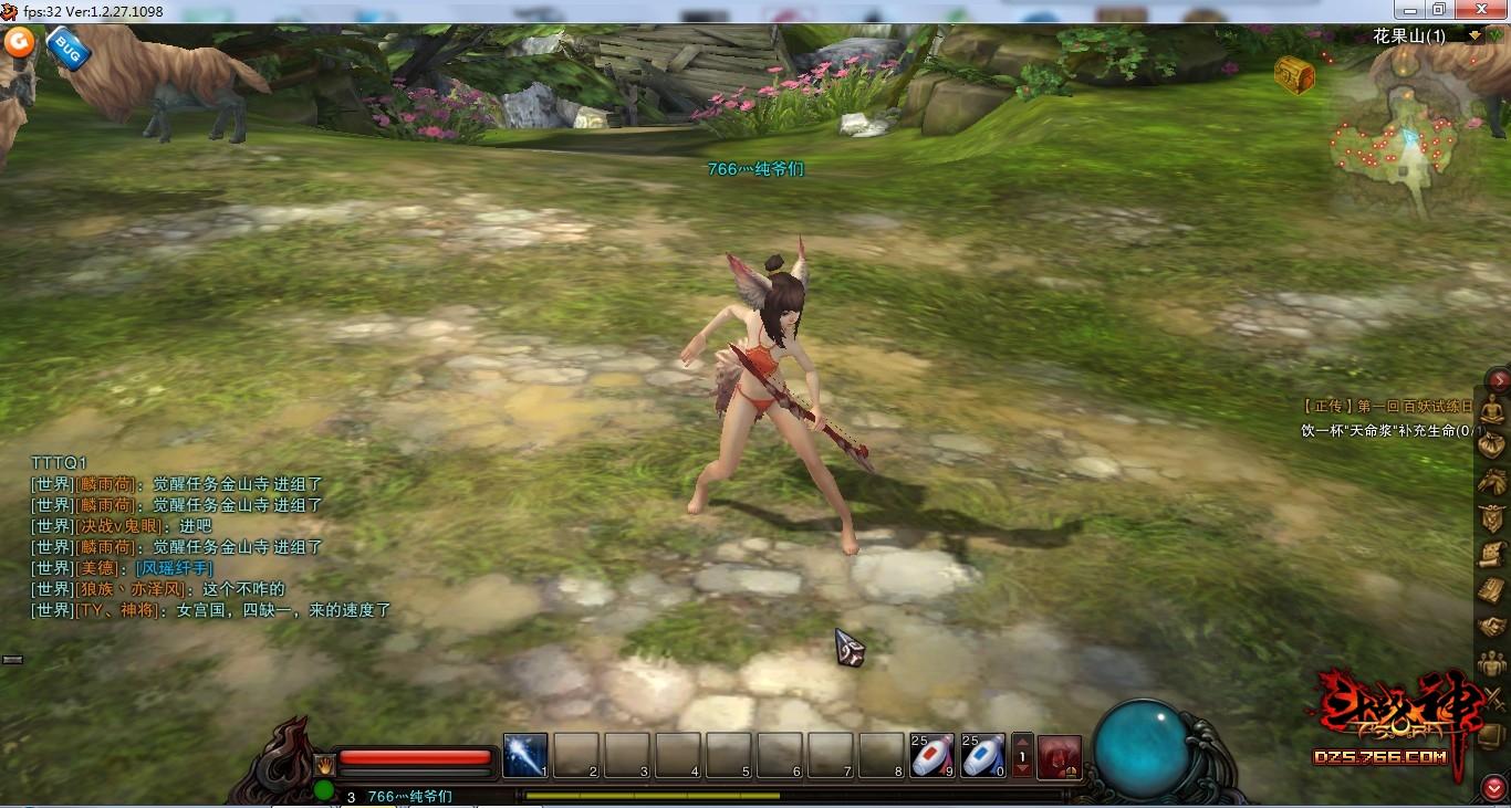斗战神玉狐第二层_一杆神奇的画笔玩家手绘临摹斗战神玉狐_斗战神