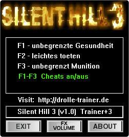 《寂静岭3》修改器+3