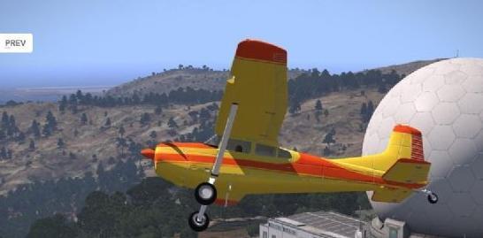 《武装突袭3》涡轮螺旋桨飞机MOD