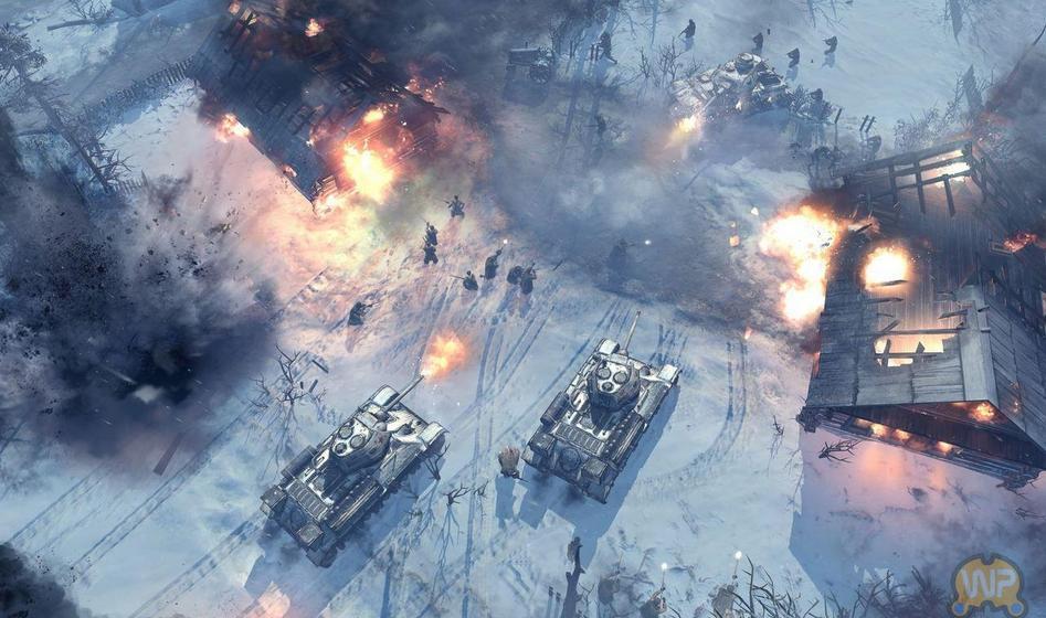 《英雄连2》困难级战役模式通关存档