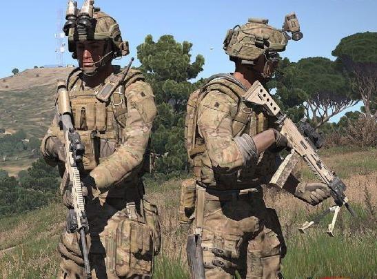 《武装突袭3》美国陆军大兵mod