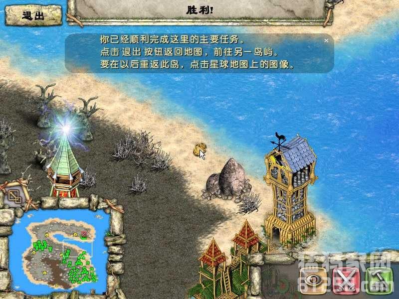 图腾部落黄金版 隐藏关卡幽灵岛攻略图片