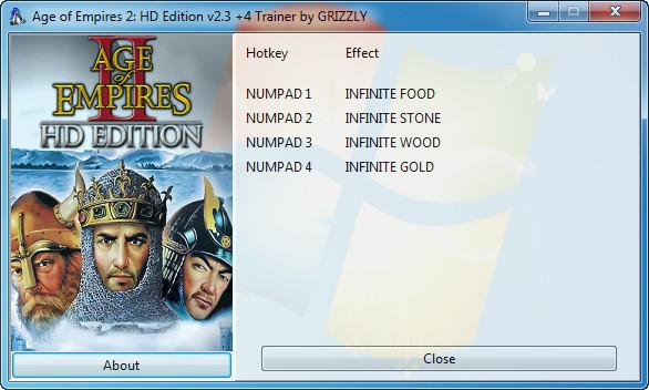 《帝国时代2:高清版》修改器+4