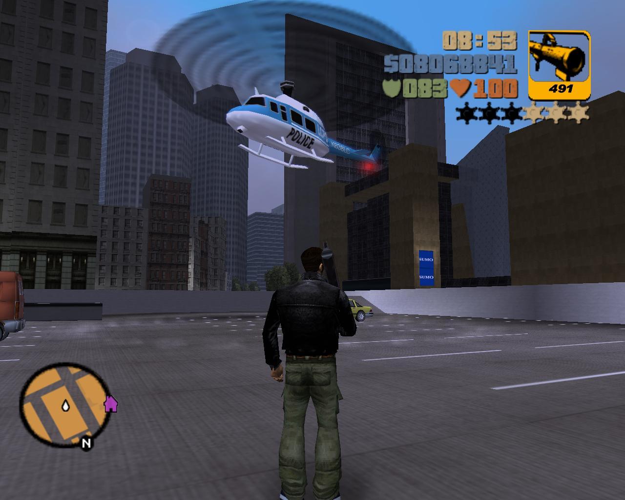 gtavc直升机_《侠盗猎车》系列直升机演变史展示游戏画质