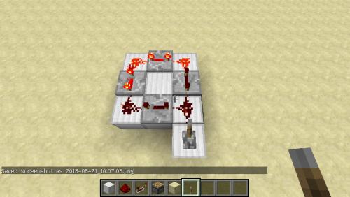 我的世界无限循环红石电路制作方法