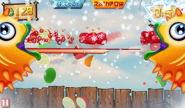 水果忍者大战彩虹糖电脑版图片