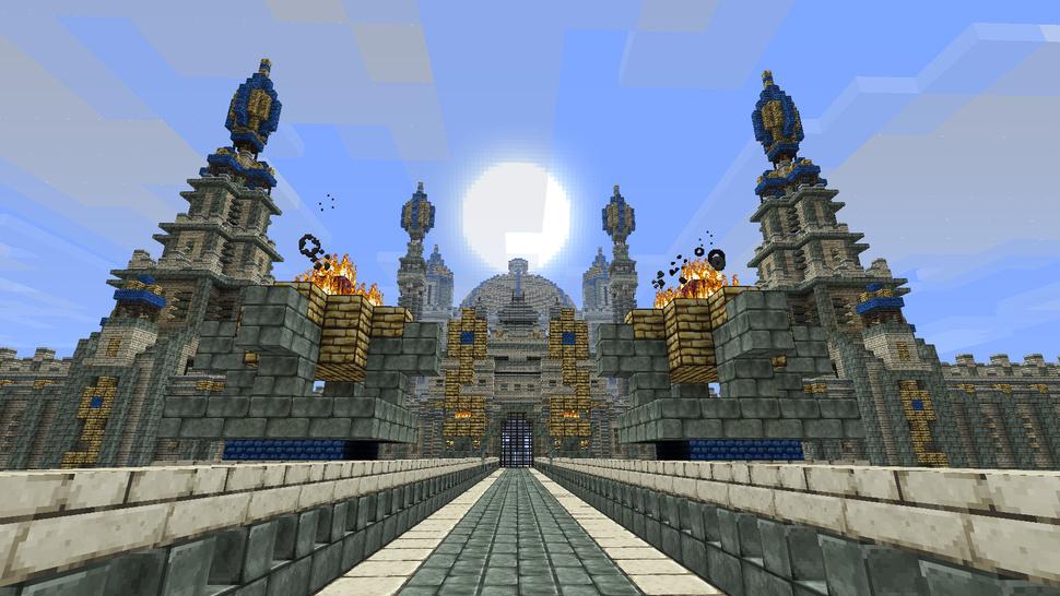 虚幻VS真实 《我的世界》打造诸多游戏名城