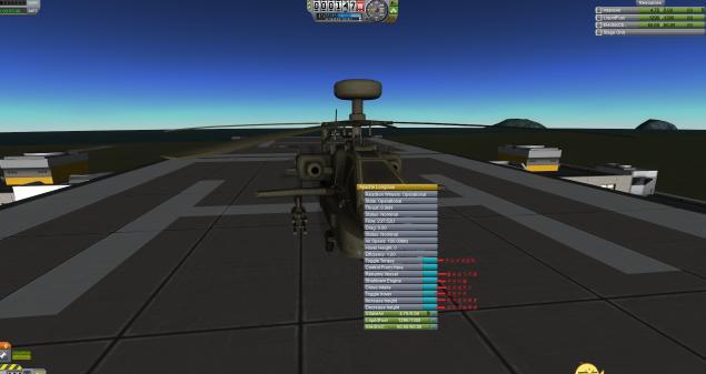 坎巴拉太空计划MOD AH-64D长弓阿帕奇直升机
