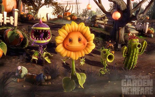 植物大战僵尸花园战争pc版截图0