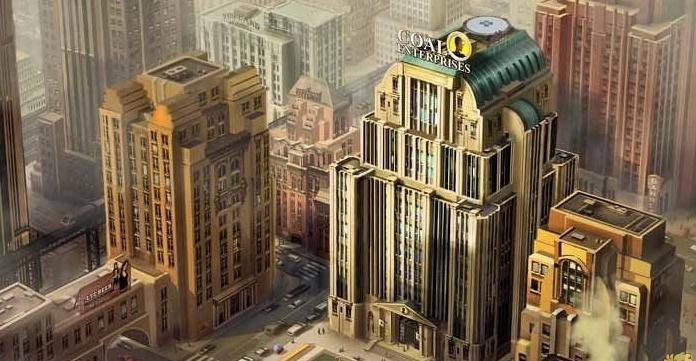模拟城市5四种树木MOD