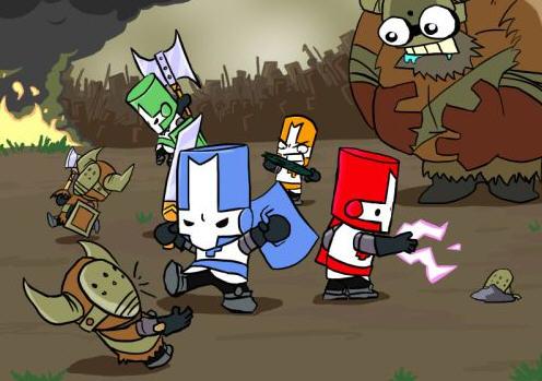 游戏画面采手绘的卡通风格