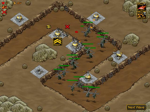 机械塔防截图2