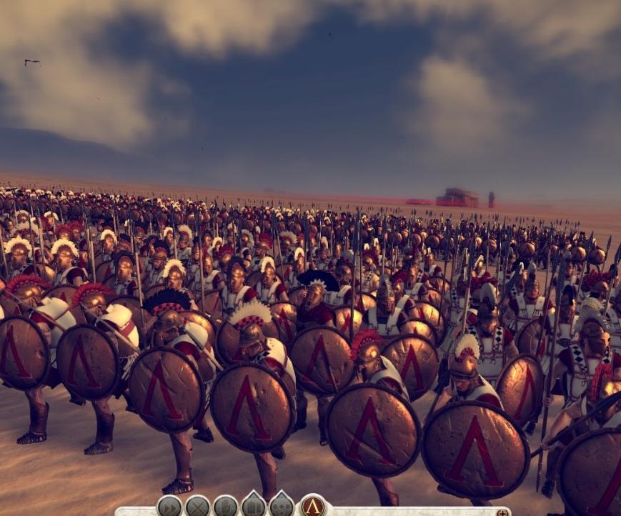 罗马2:全面战争强化斯巴达勇士MOD