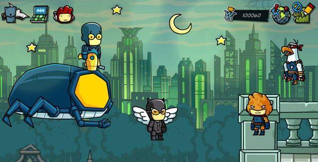 涂鸦冒险家:DC漫画冒险截图0