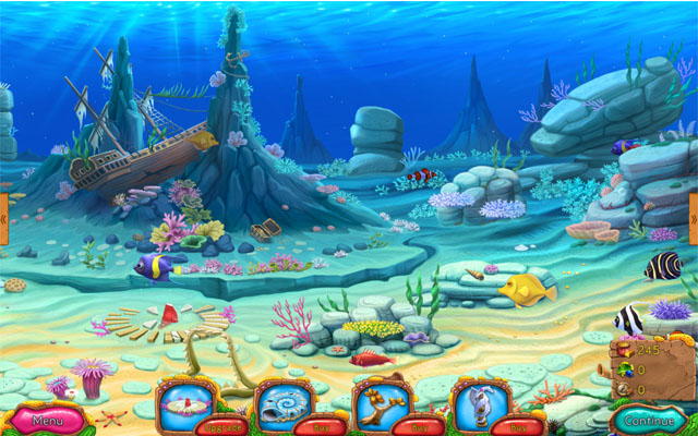 《失落的深海王国2》一如既往的海底世界风格给玩家们带来了神秘,通过消除的玩法来获得金币,用来装饰海底家园,每一关都有独自的任务,完成它们,获得更高收益。【游戏介绍】消除类游戏,用得来的金币装饰海底,有点像亚特兰蒂斯系列,可爱卡通的设计,带动了