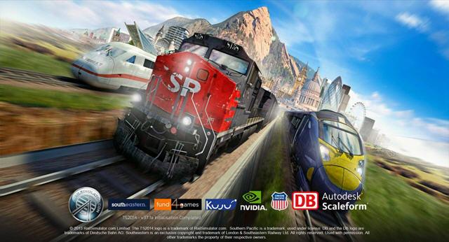 模拟火车2014截图0