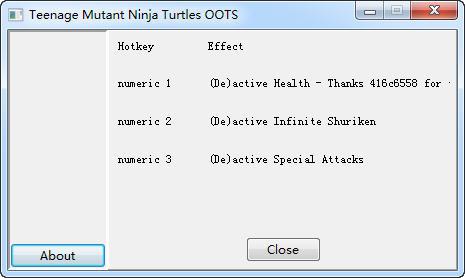 忍者神龟:冲出阴暗修改器+3