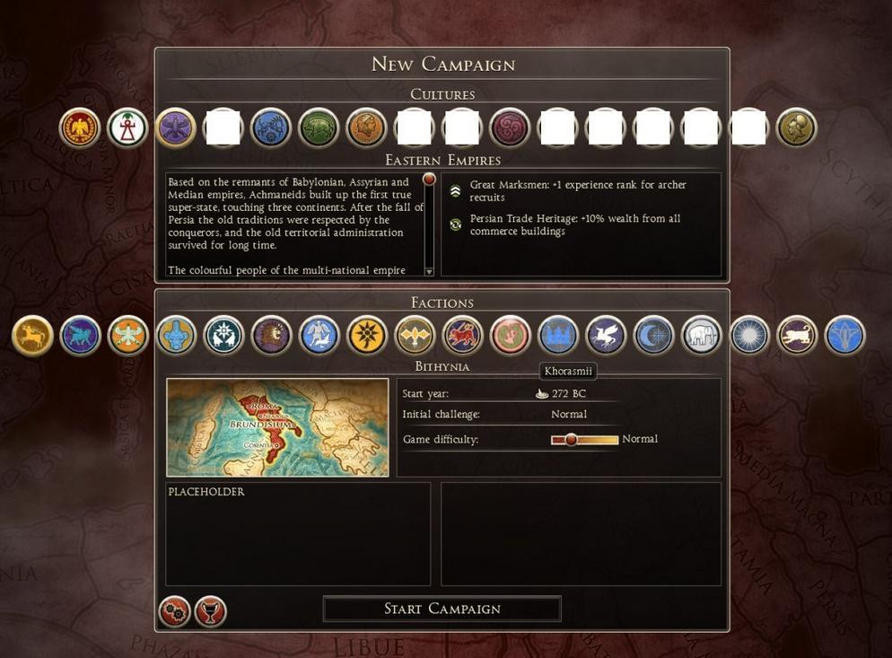 罗马2:全面战争派系全开补丁