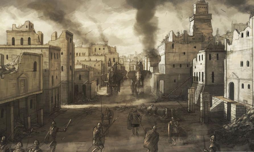 罗马2:全面战争战斗真实化MOD