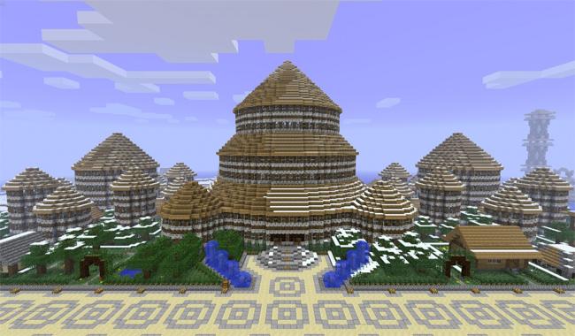 我的世界房屋设计图
