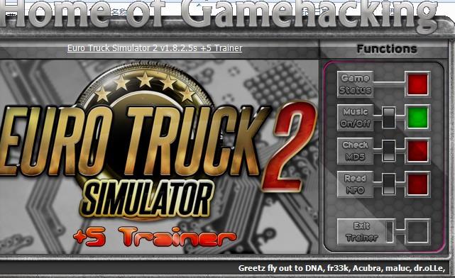 欧洲卡车模拟2修改器+5
