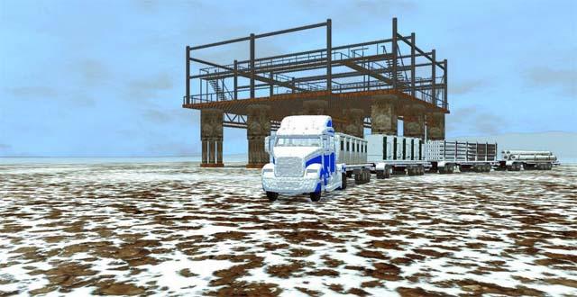 极地卡车模拟截图2