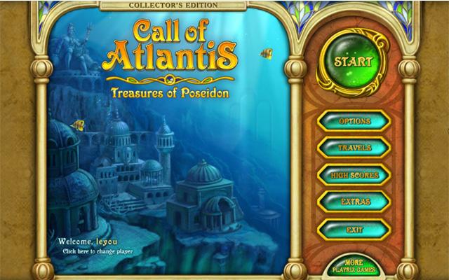 亚特兰蒂斯的召唤:波塞冬的宝物截图1
