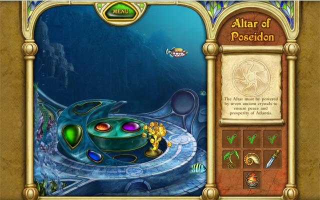 亚特兰蒂斯的召唤:波塞冬的宝物截图2